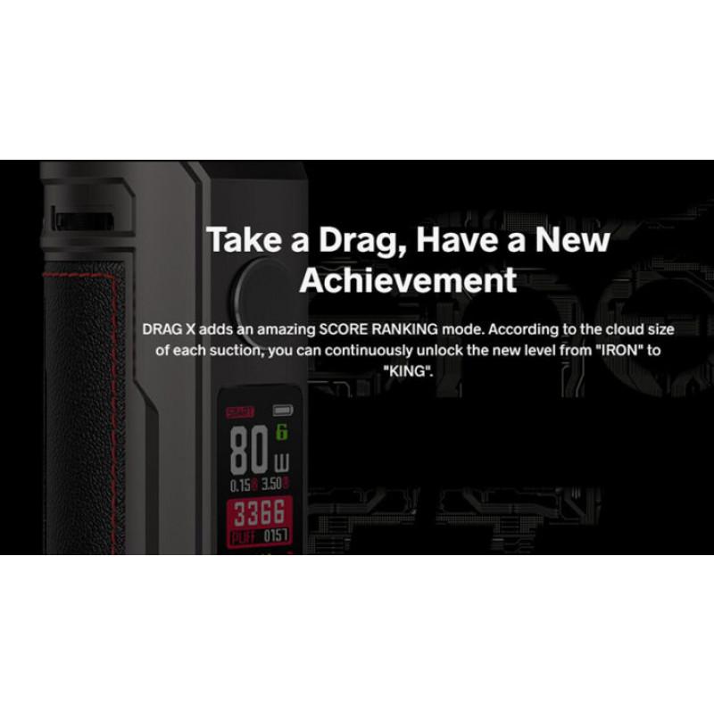 Voopoo Drag X Plus Kit Display