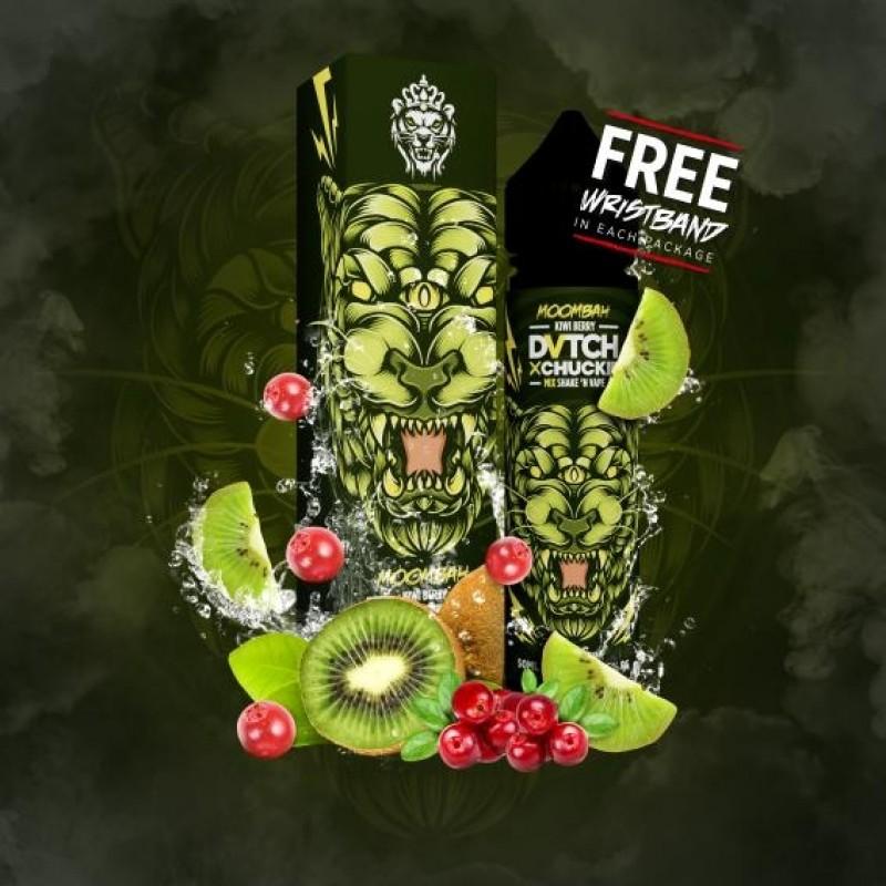 DVTCH Amsterdam Moombah Flasche mit Kiwi und Beeren