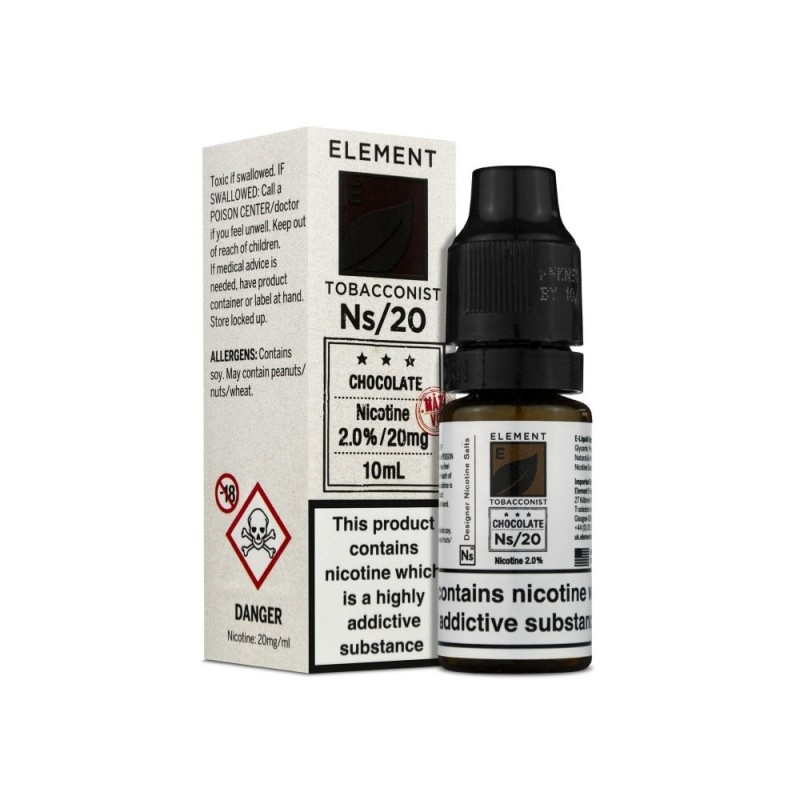 ELEMENT Ns/10/20 Tabacconist Chocolate
