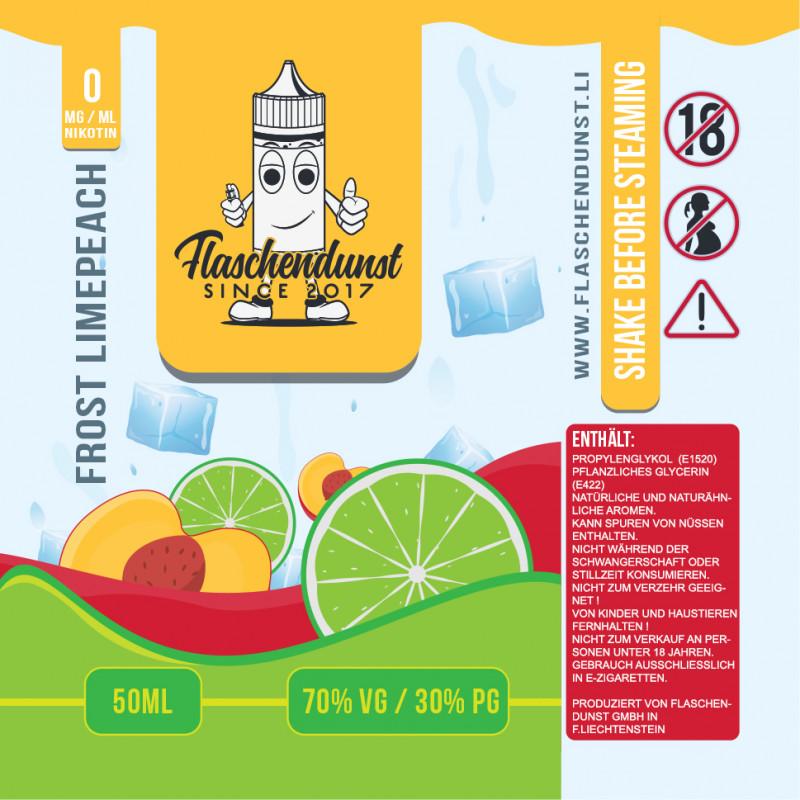 Flaschendunst Limepeach Logo