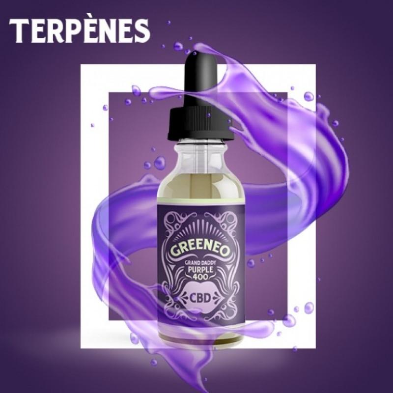 Greeneo Grand Daddy Purple Flasche Ansicht