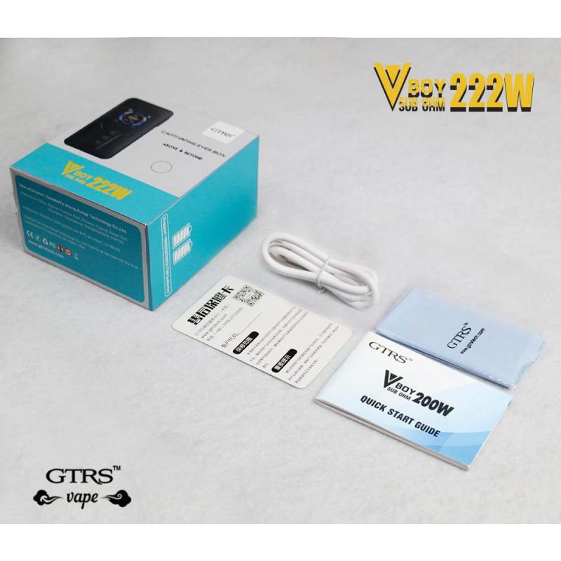 GTRS Tech VBoy 222W Mod box