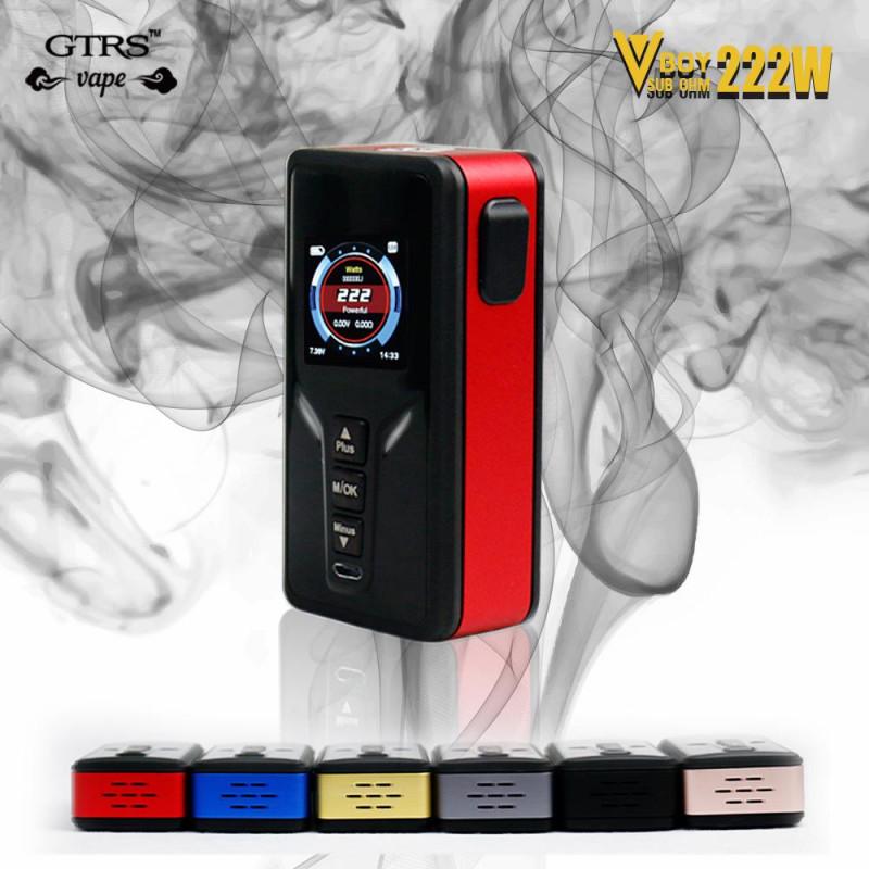 GTRS Tech VBoy 222W Mod red