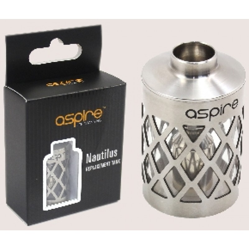 Aspire Nautilus replacement tank (steel hollowed)