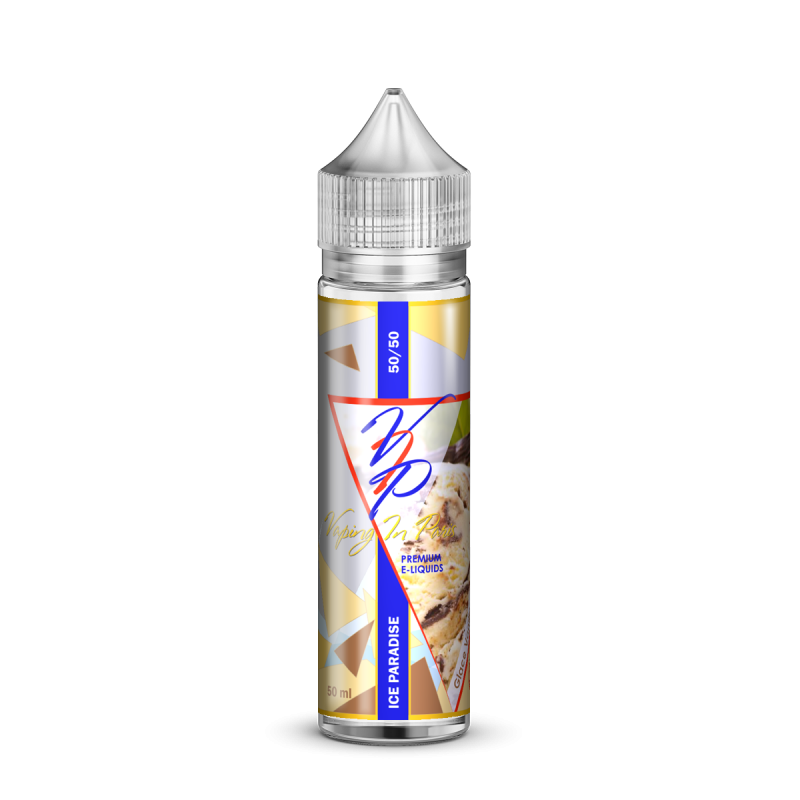 Vaping in Paris Ice Paradise Flasche
