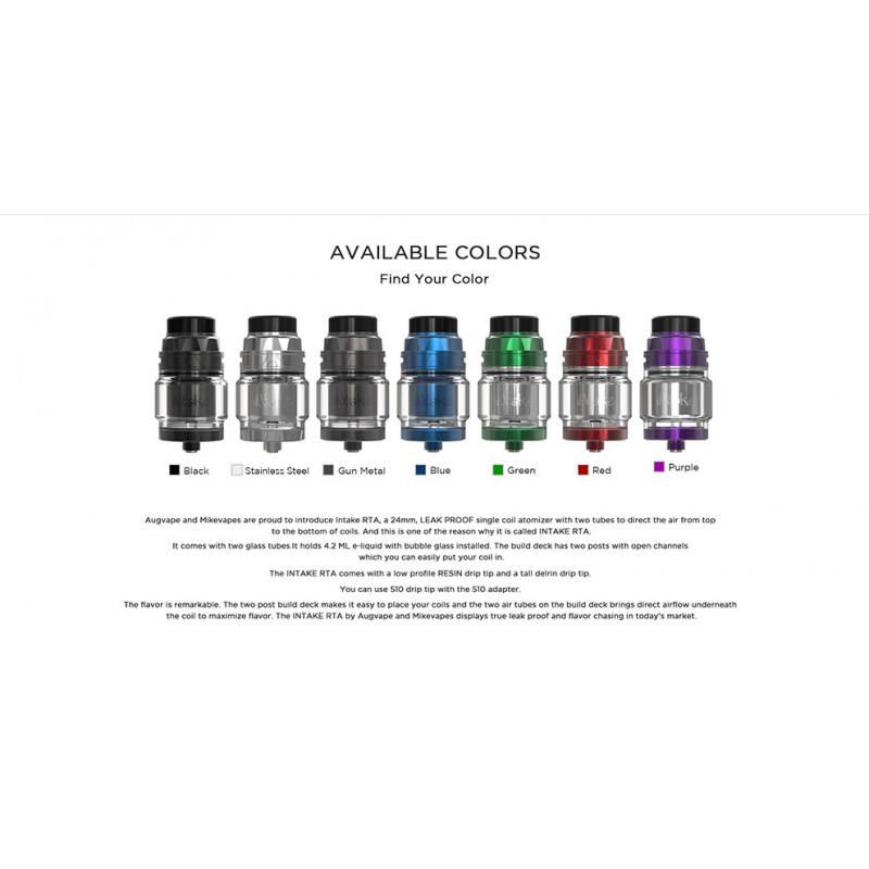 Augvape Intake RTA Farben
