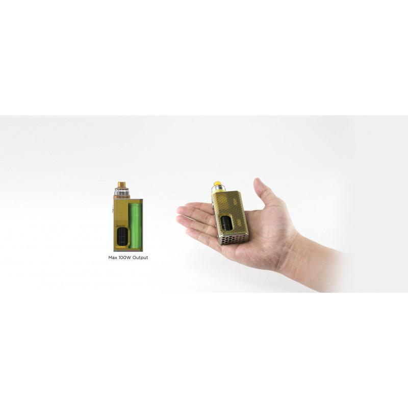 Wismec Luxotic BF Box Ansicht in Hand
