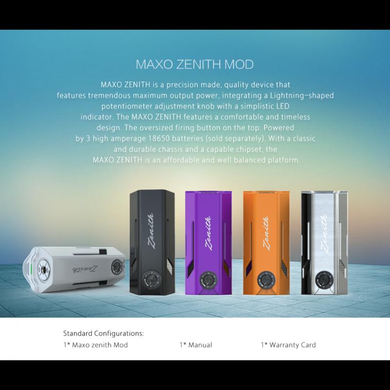 Ijoy Maxo Zenith farben