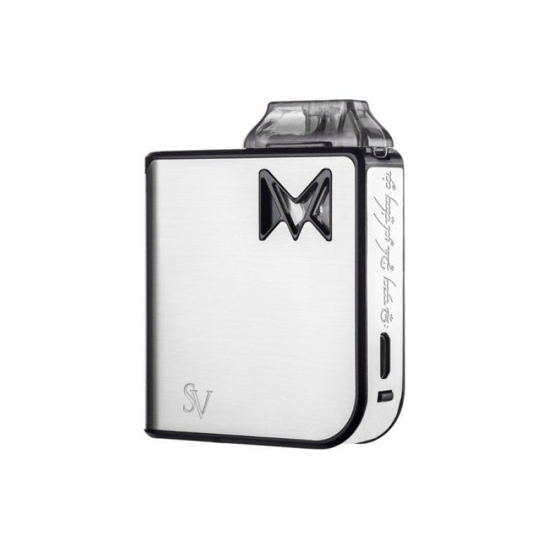 Smoking Vapor Mi-Pod Silver Metal