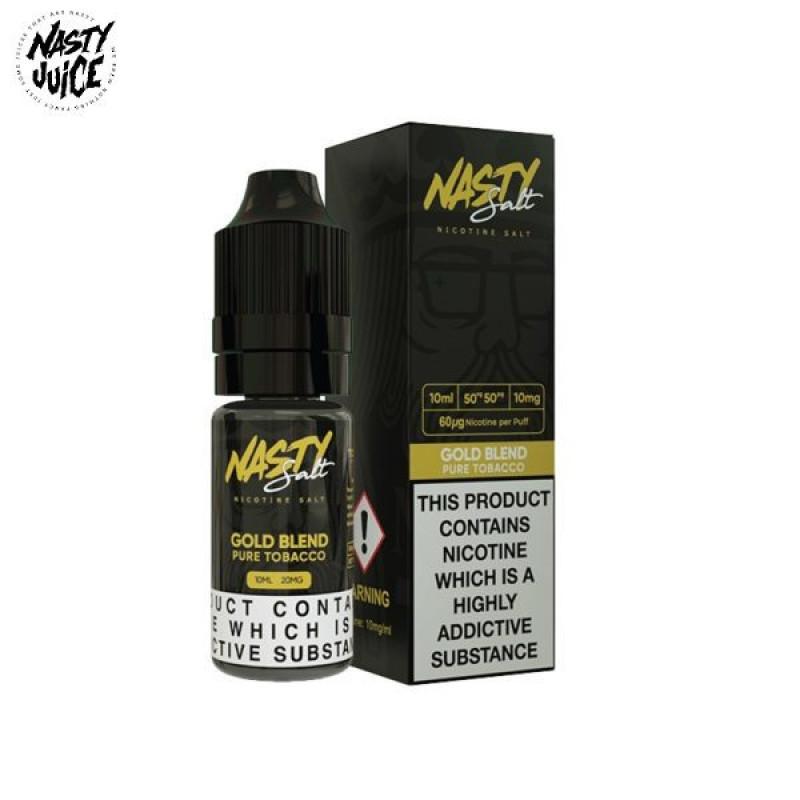 Nasty Juice Gold Blend Nic Salt