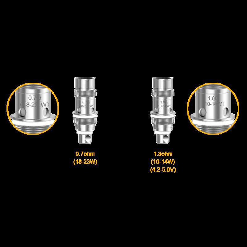 Aspire Nautilus Ersatzcoils 0.7