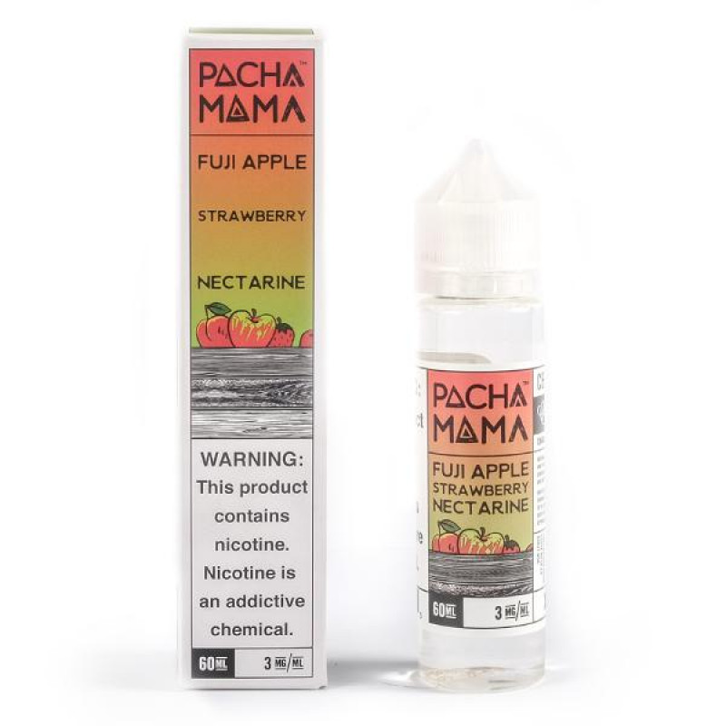 Pacha Mama Fuji Apple Strawberry Nectarine Flasche