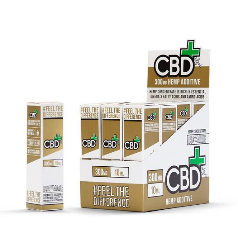 CBDfx CBD Vape Additive 300mg Box