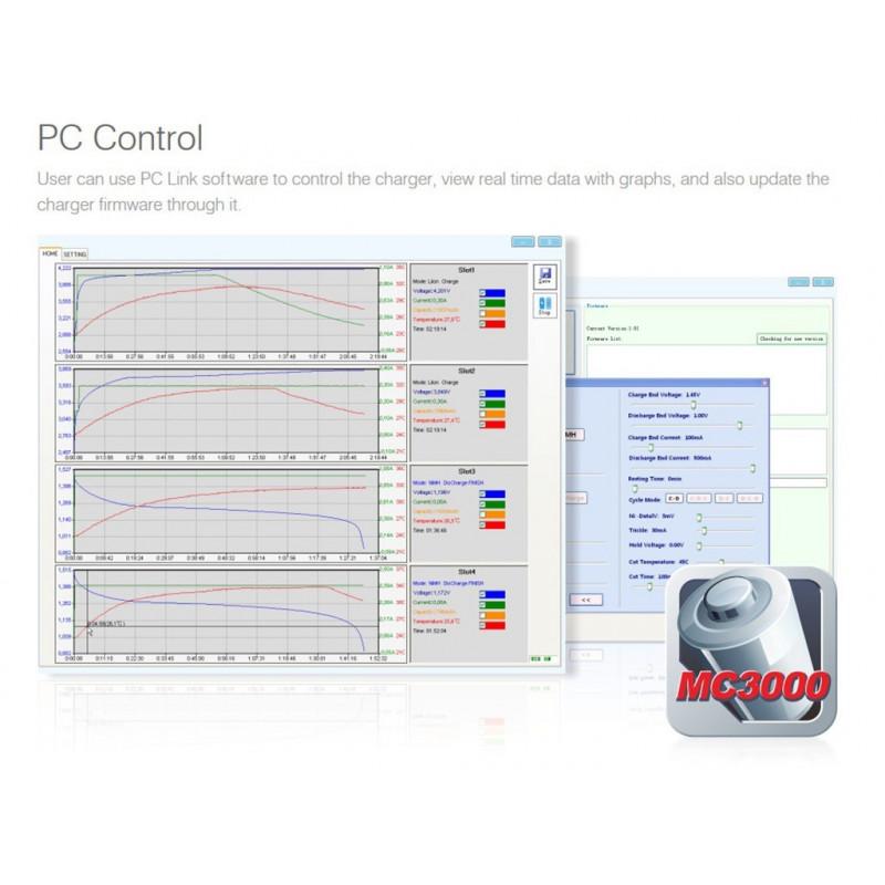 SkyRC MC3000 pc control