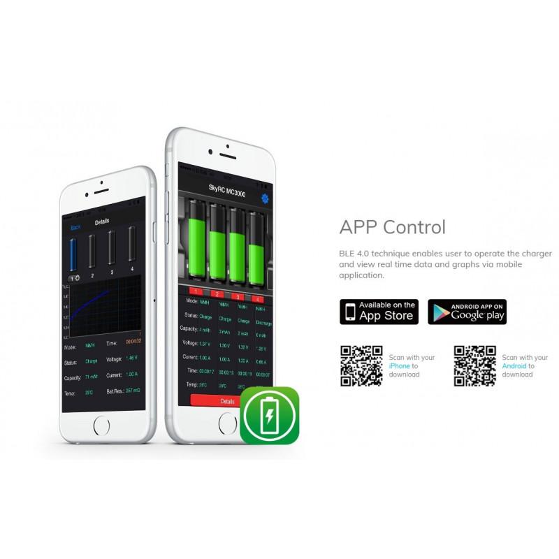 SkyRC MC3000 app control