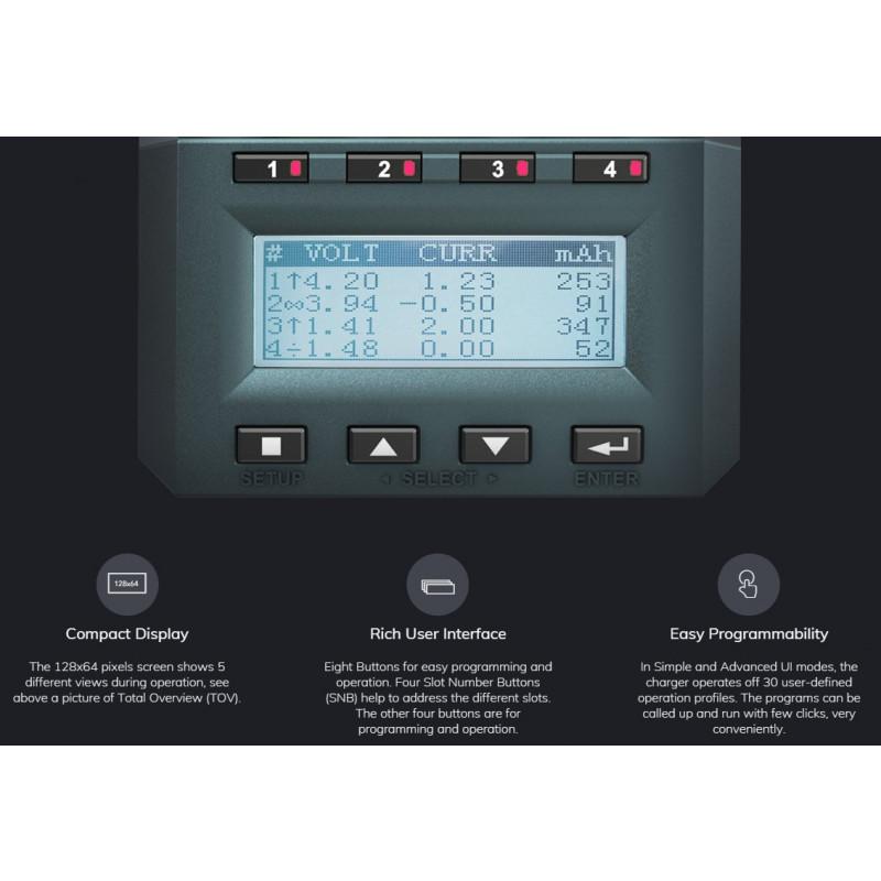 SkyRC MC3000 display