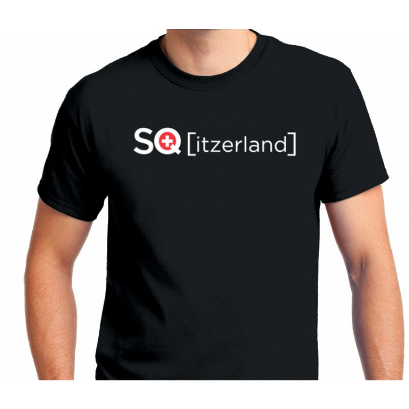 """Stattqualm T-Shirt """"SQ[itzerland]"""" Ansicht"""