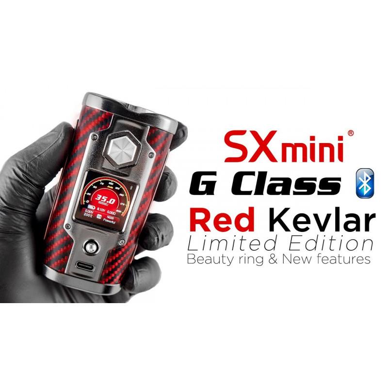 SX mini G class kevlar red2