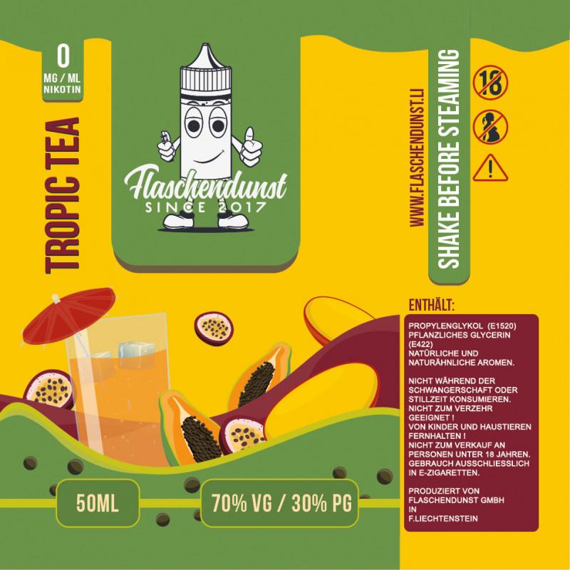 Flaschendunst Tropic Tea Logo