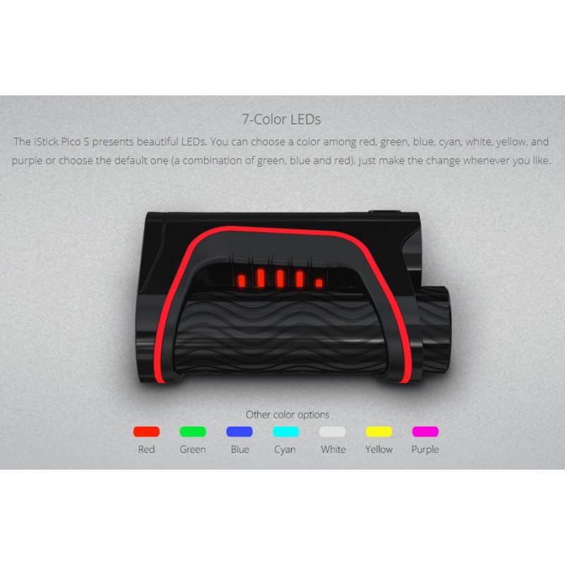 Eleaf iStick Pico S mit Ello Vate LEDs