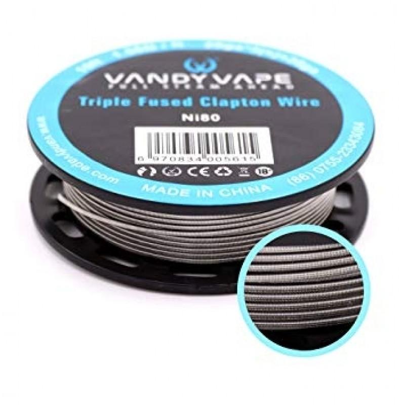 Vandy Vape Triple Fused Clapton NI80 Draht detail