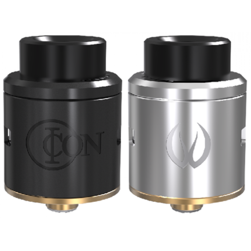 Vandyvape Iconic RDA ss and black