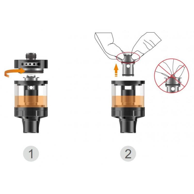 Vapefly Nicolas MTL Tank coil wechsel