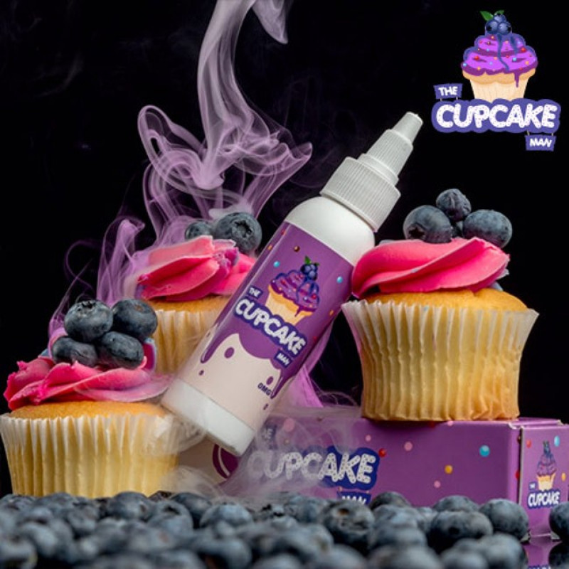 Vaper Treats Cupcake Man Blueberry