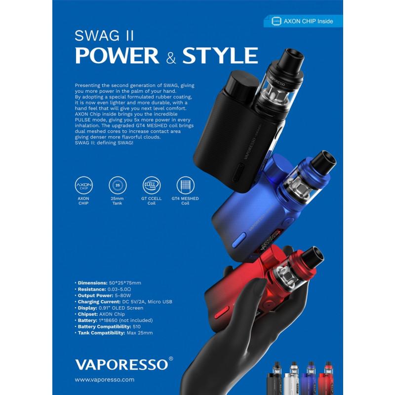 Vaporesso Swag 2 Kit style