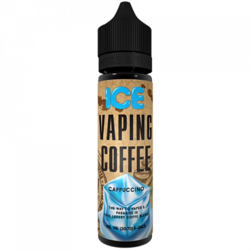 Vaping Coffee Cappuccino Ice Flasche