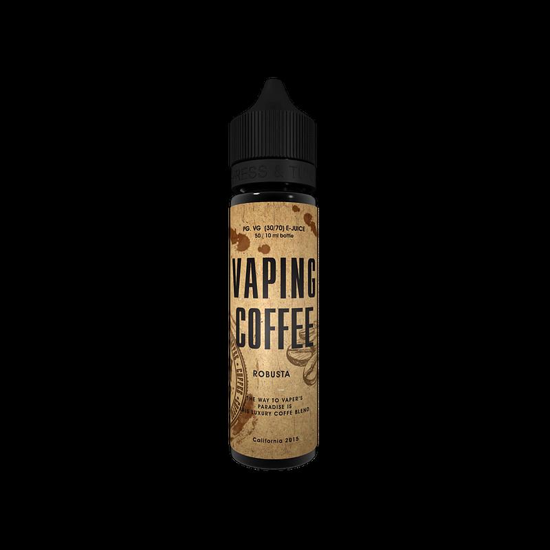 Vaping Coffee Robusta Flasche