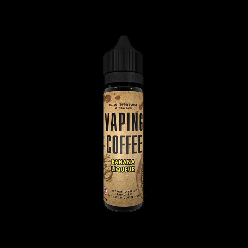 Vaping Coffee Banana Liqueur Flasche