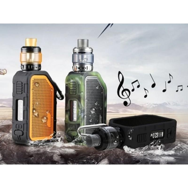 Wismec Active - Amor NS Plus Kit (mit Bluetooth Boxen) musik
