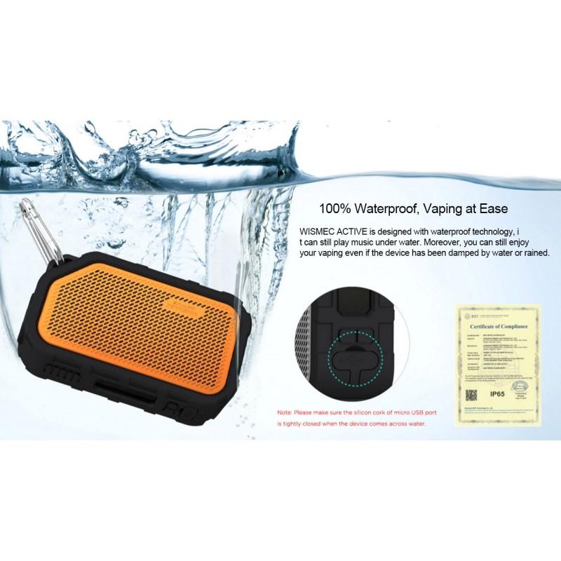 Wismec Active - Amor NS Plus Kit (mit Bluetooth Boxen) 100% waterproof