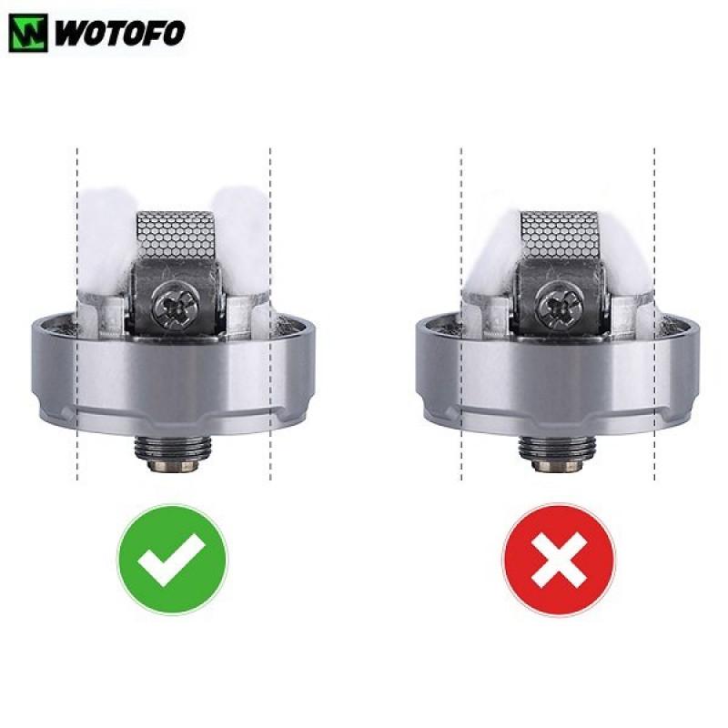 Wotofo Profile RDTA mesh wickeln
