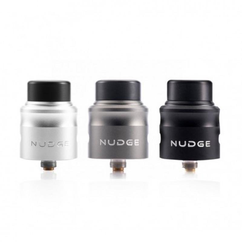 Wotofo Nudge RDA silver, gunmetal, black