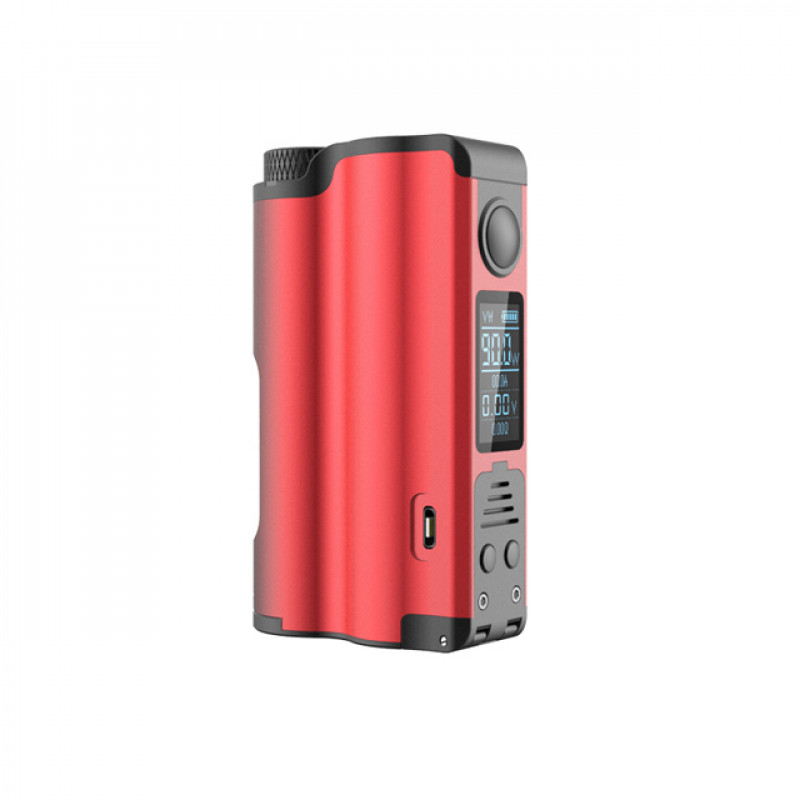 Dovpo Topside Single 21700 Squonker rot Ansicht