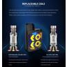 Uwell Caliburn Koko Prime verfügbare Coils