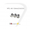 MTL Kit 1.3/2.0/2.5mm SQuape E