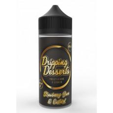 Dripping Desserts Strawberry Jam & Custard Ansicht Flasche