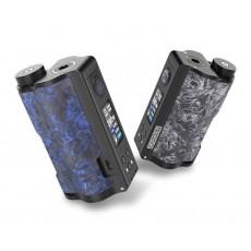 Dovpo Topside Dual Carbon seitliche Ansicht Carbon Blue und Carbon White