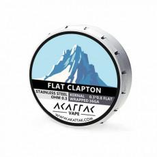 Akattak Flat Clapton Fertig Coil SS316