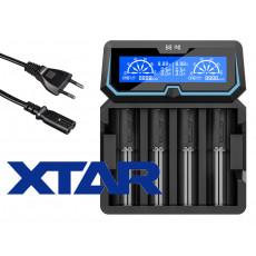 Xtar X4 Ansicht von oben