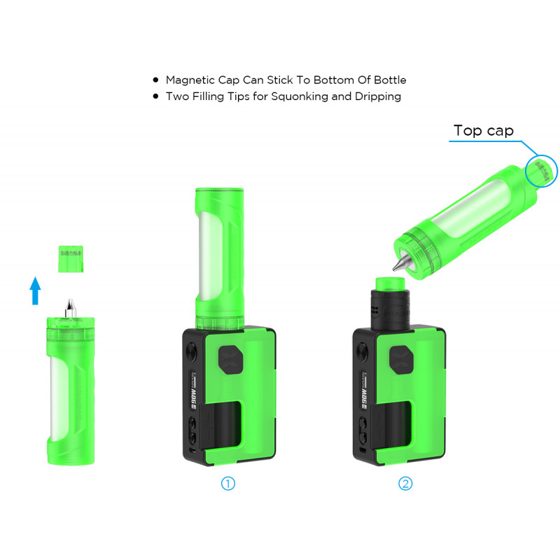 Vandy Vape Refill Bottle Pro 30ml Anwendungsmöglichkeiten