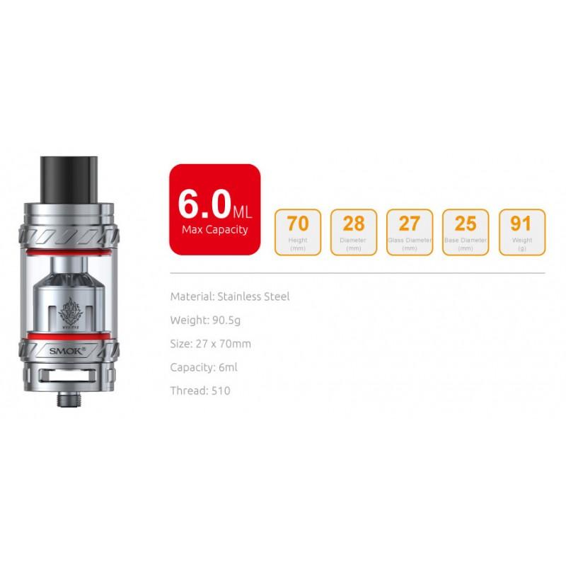 Smok TFV12 Cloud Beast leistung