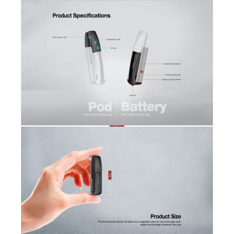 Justfog Minifit Kit Erklärung