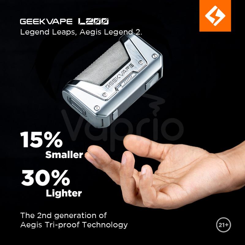 Geekvape Aegis Legend 2 Kit Gewicht und Grösse