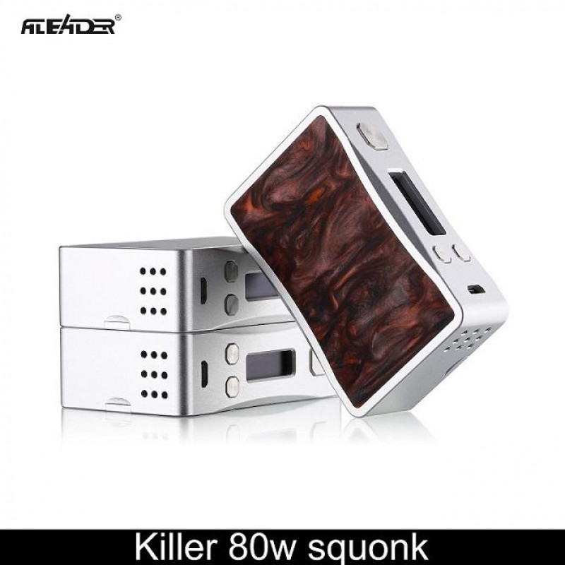 Aleader Killer 80W Squonker Box silber