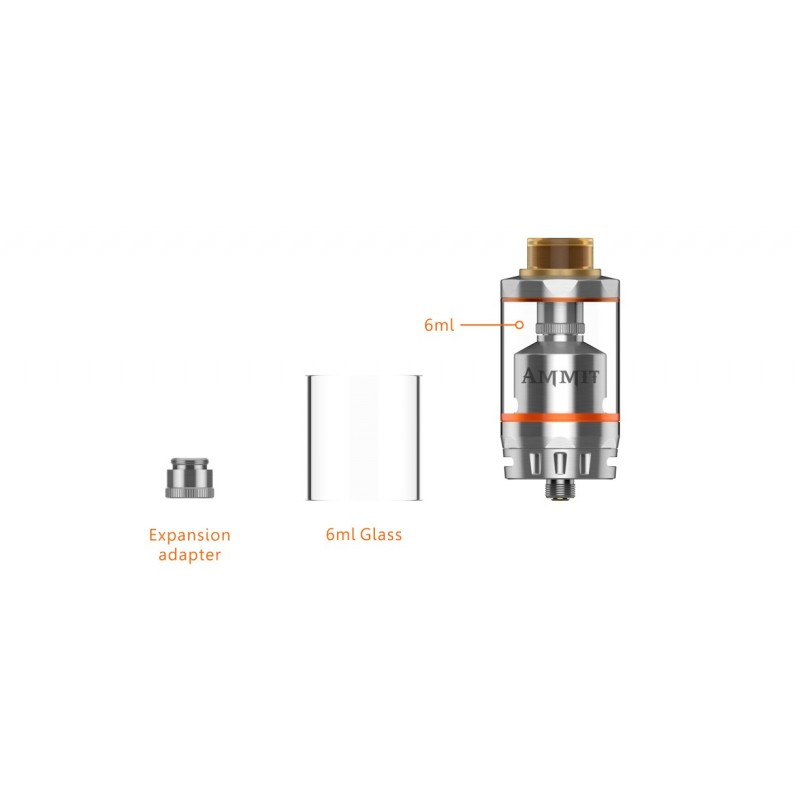 Geekvape Ammit Dual Coil Version glass