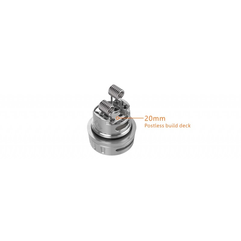 Geekvape Ammit Dual Coil Version postless deck